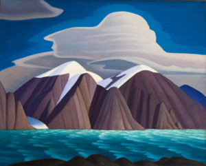 Lawren Harris 1931, the view from Pond Inlet