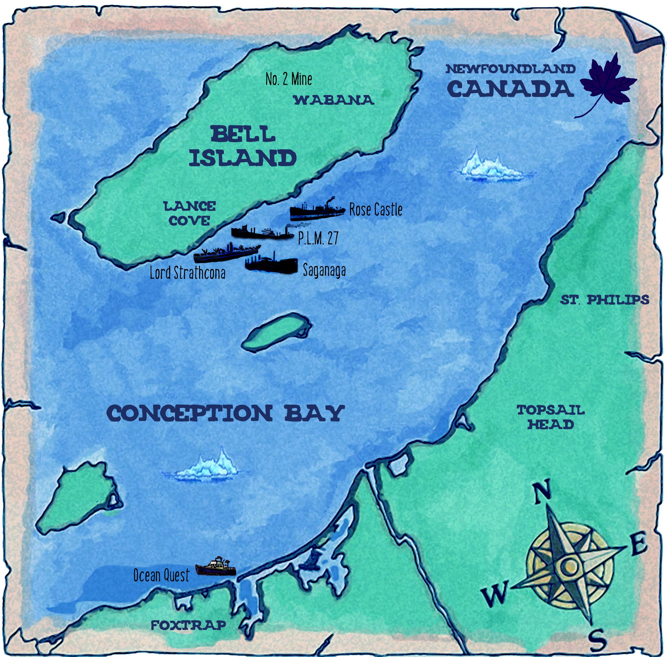 Boom Island Map